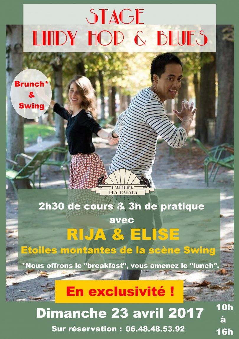 Stage Lindy Hop et Blues avec Rija et Elise
