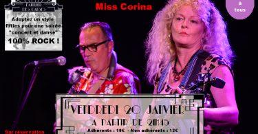 Soirée Rock, concert et danse avec Black Cat Joe et Miss Corina