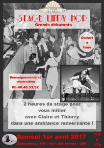 Stage Lindy Hop Débutant
