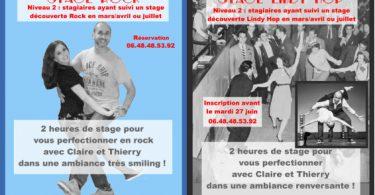 Stages de Rock et Lindy Hop